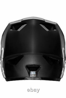 Fox Kinder Rampage Mountainbike Downhill DH MTB Fullface Helm schwarz S-M