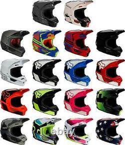Fox Racing V1 Helmet MX Motocross Dirt Bike Off-Road ATV MTB UTV Adult