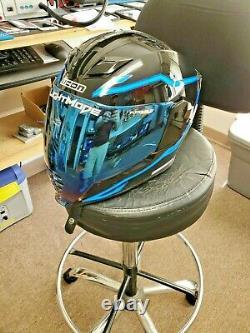 Full Face Motorcycle Helmet Icon Airflite Light Mode Airflite Face Shield