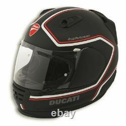 Genuine Ducati Helmet Red Line ECE Rebel by Arai Black Medium
