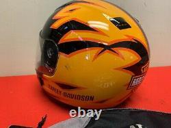 Genuine Harley-Davidson Full-face Modular Flip-up Motorcycle Helmet Size Large