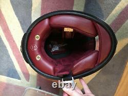 Gorgeous Custom RUBY Castel Full Face Motorcycle Helmet OOAK All Original Box