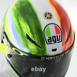 Gprr Rossi Pista Gp-rr Agv #vr46 Tricolor Mugello Motorcycle Race Crash Helmet