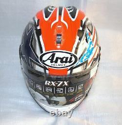 HAYDEN LAGUNA 05 Arai Full face helmet RX-7X Corsair-X RX-7V Casque casco Helmet
