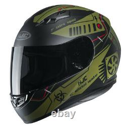 HJC CS-15 Tarex MC45Militry Green/Black Full Face Motorcycle/Motorbike Helmet EZ