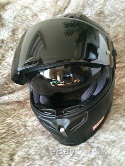 HJC FG-ST Marvel Punisher Black Full Face Motorcycle Helmet MEDIUM USED