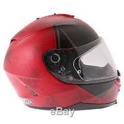 HJC IS-17 Deadpool Motorcycle Helmet Motorbike Marvel Wade Wilson Red Large 60