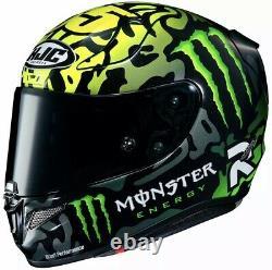 HJC RPHA 11 Crutchlow Replica Motorcycle Helmet Monster