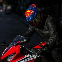 HJC RPHA 11 Marvel 11 Superman Full Face Sports Motorcycle helmet +DARK VISOR ZE