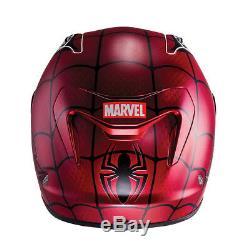 HJC RPHA 11 Marvel Spider Man LIMITED EDITION Full Face Motorcycle Bike Helmet