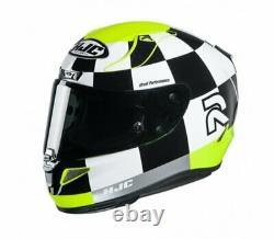 HJC RPHA 11 Misano Fluo Yellow Full Face Sports Motorcycle helmet SALE