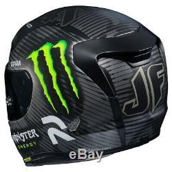 HJC RPHA 11 Monster 94 Special Edition Motorcycle Motorbike Helmet, 2 Visors