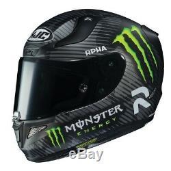 HJC RPHA 11 Monster Jonas Folger 94 Special Motorcycle Helmet Pinlock Large