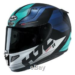 HJC RPHA 11 Naxos Blue Full Face Motorcycle Motorbike Helmet Pinlock 2 Visors