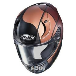 HJC RPHA 11 Quintain Full Face Sports Motorcycle helmet Gold Brown £100 OFF