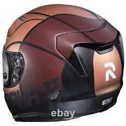 HJC RPHA 11 Quintain Full Face Sports Motorcycle helmet Gold Brown & Silver £360