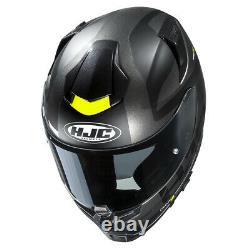 HJC RPHA 70 Balius Black Fluo Motorcycle Motorbike Full Face Helmet Free Pinlock