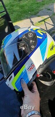 HJC RPHA 70 Blue MC2 Motorcycle Helmet
