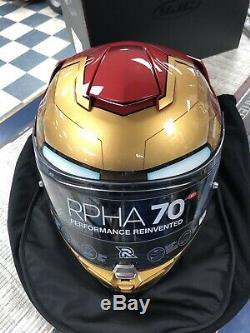 HJC RPHA 70 ST Iron Man Helmet Ironman Motorcycle Full Face Medium