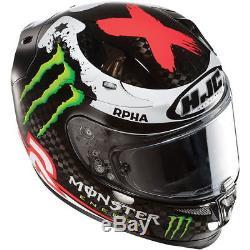 HJC RPHA10+ Plus Jorge Lorenzo Carbon Full Face Motorbike Motorcycle Helmet S