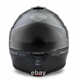 Harley Davidson Capstone Silver H24 Sun Shield Modular Helmet 98357-19EX