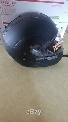 Harley Davidson HD-M1V Full Face Modular Motorcycle Helmet Size L