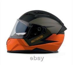 Harley-Davidson Killian M05 Full-Face Helmet Black & Orange 98114-20EX