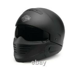 Harley Davidson Pilot II 2in1 Helmet Matt Black 98133-18EX