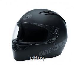 Harley-davidson Full Face Helmet Bell Qualifier Fulton Matte Black Legal