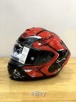 High Quality X14 Full Face Motorcycle Helmet (MOTO GP Racing Motorbike) RED