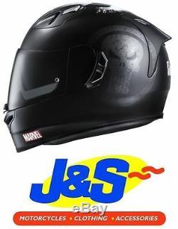 Hjc Fg-st Marvel Punisher Motorcycle Helmet Motorbike Crash LID Black Skull J&s