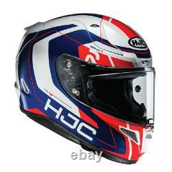 Hjc Rpha 11 Chakri Red Blue Full Face Motorcycle Race Sport Track Helmet S L XL