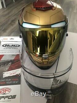 Hjc Rpha 70 Iron Man Homecoming Motorcycle Helmet Medium