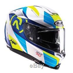 Hjc Rpha 70 Lif Blue Motorcycle Helmet Large