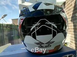 Hjc Rpha St Rugal Red Full Face Motorcycle Helmet Motorbike Helmet Size Medium