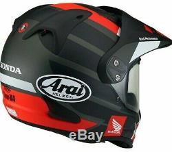 Honda Arai Tour X 4 New Tour X4 Adventure Africa Twin Crash Helmet Hrc Black Xs