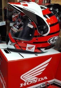 Honda Arai Tour X 4 New Tour X4 Adventure Africa Twin Crash Helmet Hrc Red M