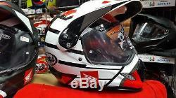 Honda Arai Tour X 4 New Tour X4 Adventure Africa Twin Crash Helmet Hrc White L