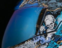 Icon Airflite 4Horsemen Motorcycle Motorbike Helmet Blue