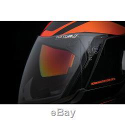 Icon Airflite Crosslink Black Red Motorcycle Motorbike Helmet