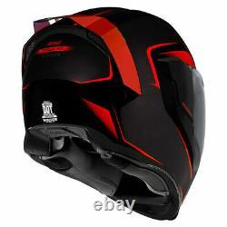 Icon Airflite Crosslink Motorcycle Motorbike Helmet Red