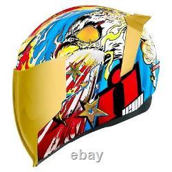 Icon Airflite Freedom Spitter Full Face Motorcycle Helmet New Spring 2021