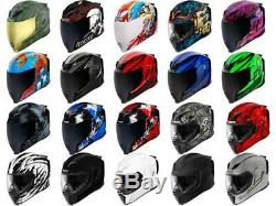 Icon Airflite Helmet Motorcycle Full Face Street Riding Sportbike Adult DOT/ECE