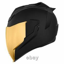 Icon Airflite Peacekeeper Motorcycle Motorbike Helmet Black