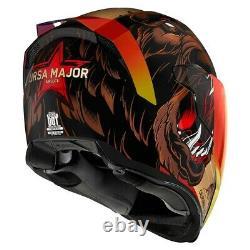 Icon Airflite Ursa Major California Bear Full Face Motorcycle Helmet New 2021