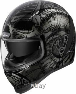 Icon Airform Sacrosanct Motorcycle Helmet Black