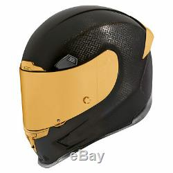 Icon Airframe Pro Carbon Motorcycle Helmet (Comes with 2 Shields)