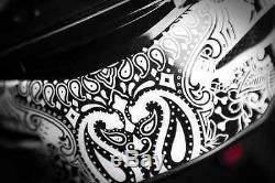 Icon Airmada Chantilly Full Face Motorcycle Motorbike Helmet White