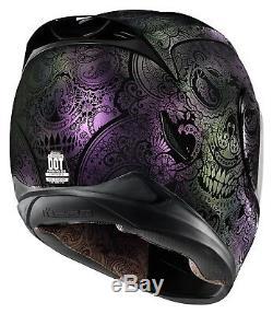 Icon Airmada Chantilly Opal Purple Full Face Motorbike Helmet
