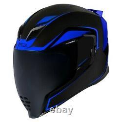Icon Blue Airflite Crosslink Full Face Motorcycle Helmet New Spring 2021